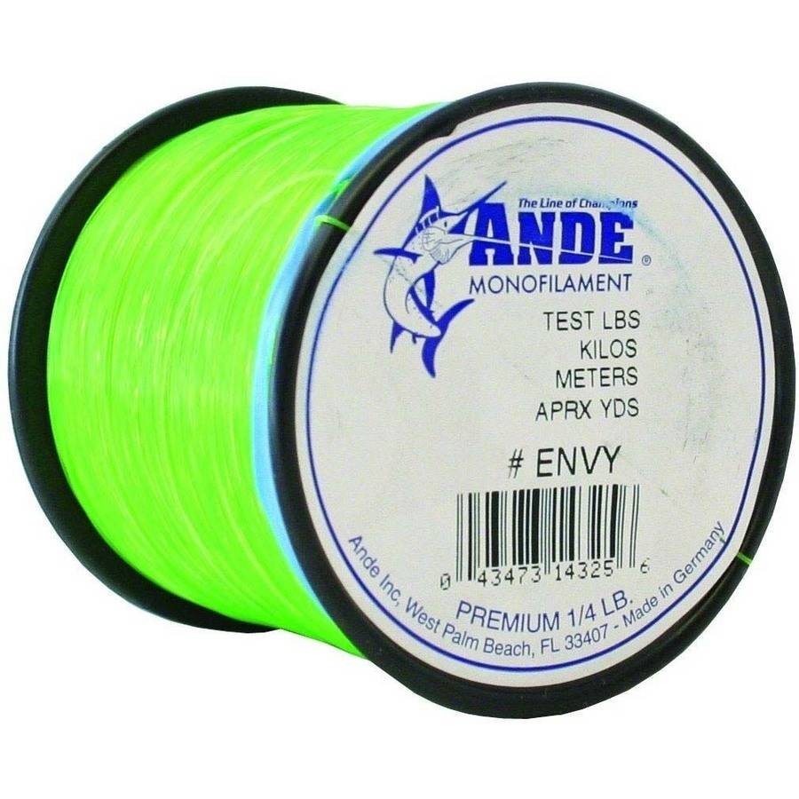Ande Premium Monofilament, Dark Green