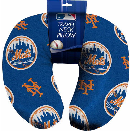 MLB U-Neck Pillow, Mets
