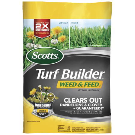 Scotts Turf Builder Weed & Feed 3, Covers up to 5,000 sq.