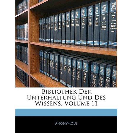 bibliothek der unterhaltung und des wissens volume 11. Black Bedroom Furniture Sets. Home Design Ideas