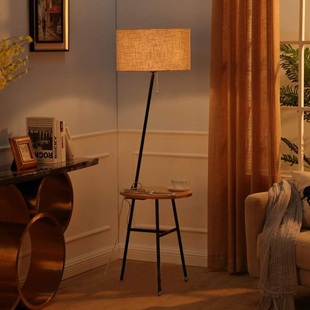 Wellmet Modern Tripod Floor Lamp With