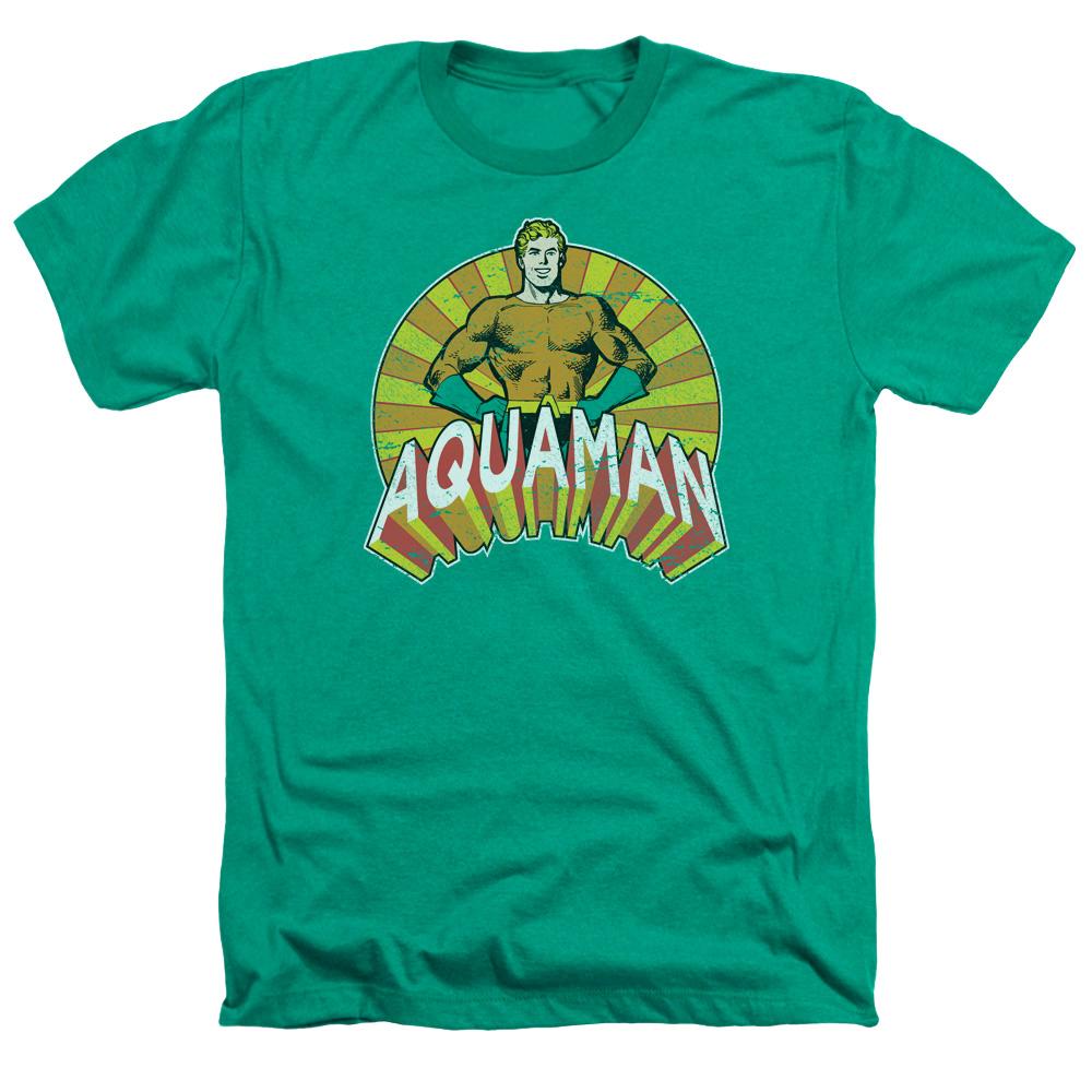 DC Comics Arms Akimbo Mens Heather Shirt