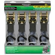 Hampton Products-Keeper 43509 Ratchet Tie Down, Digital Gray Camo, 1-In. x 12-Ft., 4-Pk.