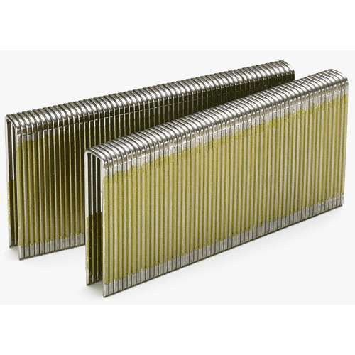 SENCO L14BAB 18-Gauge 1/4 in. x 1-1/8 in. Galvanized Staples (5,000-Pack)