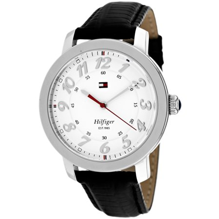 Tommy Hilfiger Women's Olivia 3-Hand Quartz Watch - White & Black - 1781218