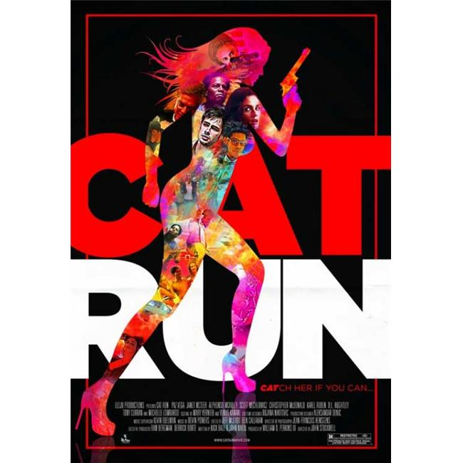 Posterazzi MOVIB38714 Cat Run Movie Poster - 27 x 40 in. - image 1 of 1