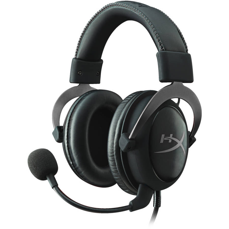 HyperX Cloud II Pro Gaming Headset, Gun Metal by Kingston