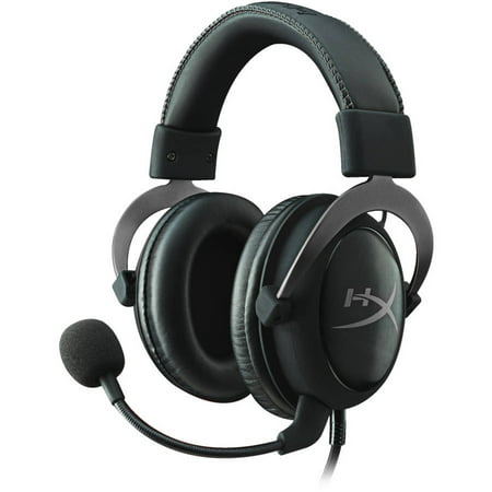 HyperX Cloud II Pro Gaming Headset, Gun Metal (Metal Rotor Headset)