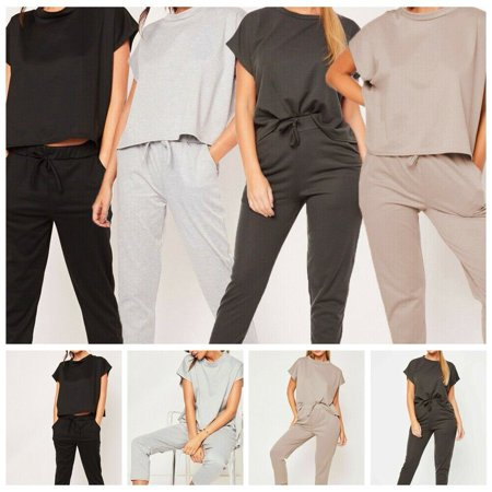 Women Two Piece Set Summer Tracksuit Tops Pants Sexy Two Piece Outfits For Women Clothes Set Solid Women