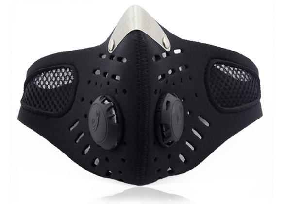 Ski Anti-pollution Face Mask SportMotorcycle Mouth-muffle Dustproof With Filter FSBR by