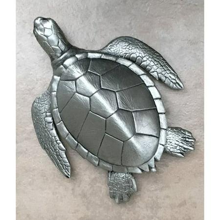 Bayou Breeze Chau Large Sea Turtle Tile Figurine - Walmart com