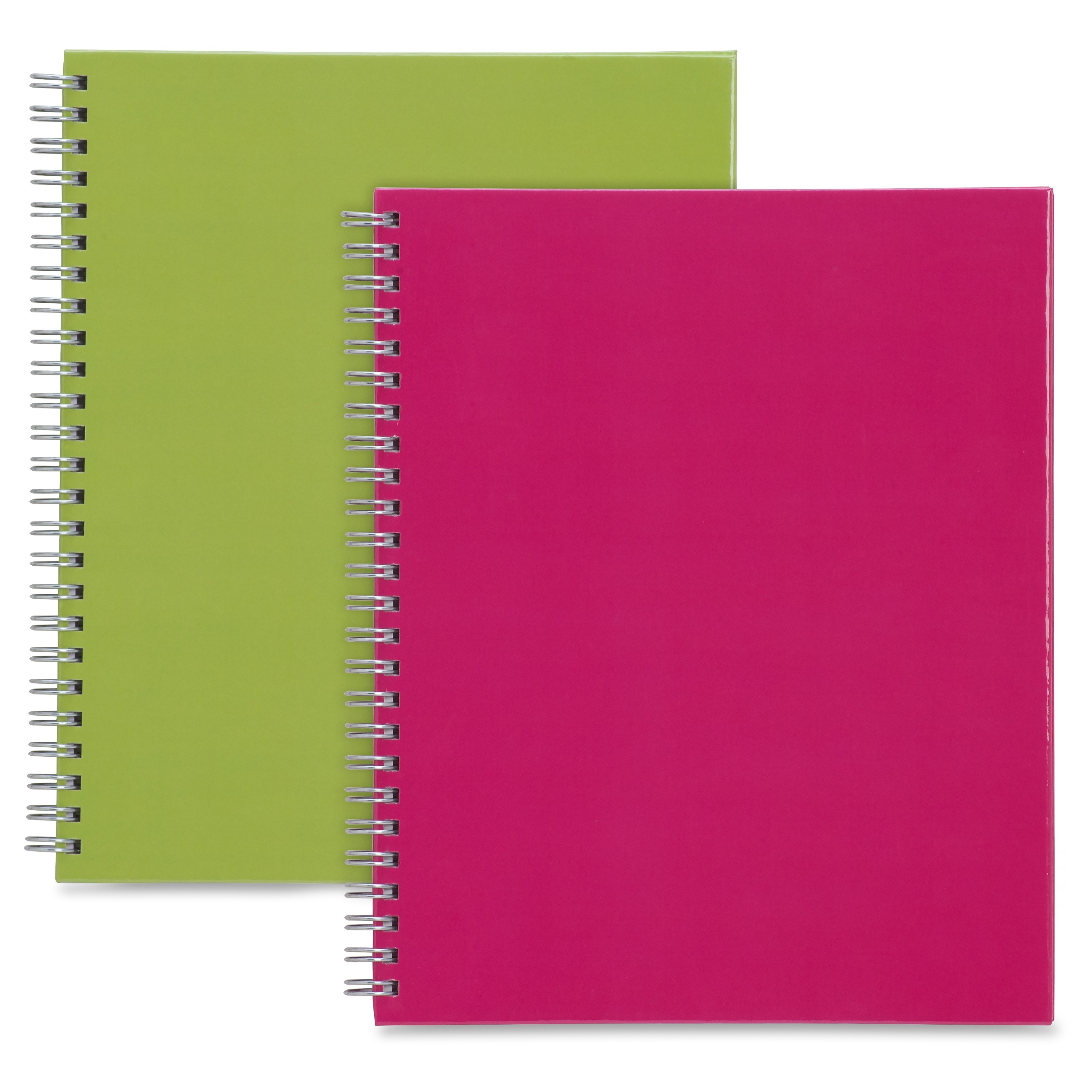 Sparco Twin-wire Professional-style Notebook - 80 Page - Ruled - 2 / Pack Multi-colored Cover (spr-17710)