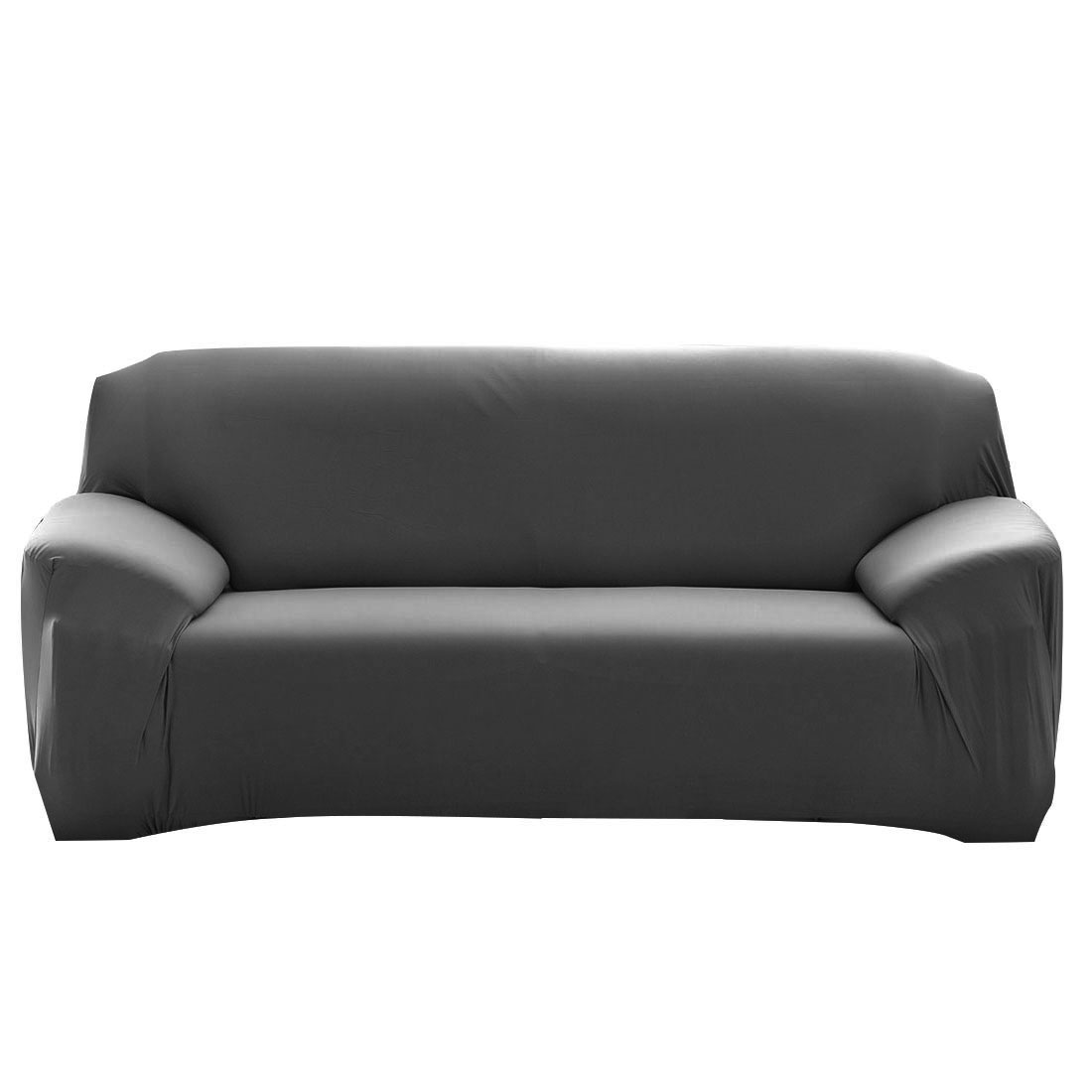 Universal Fit Stretch Chair Loveseat Couch Sofa Cover Slipcovers Gray