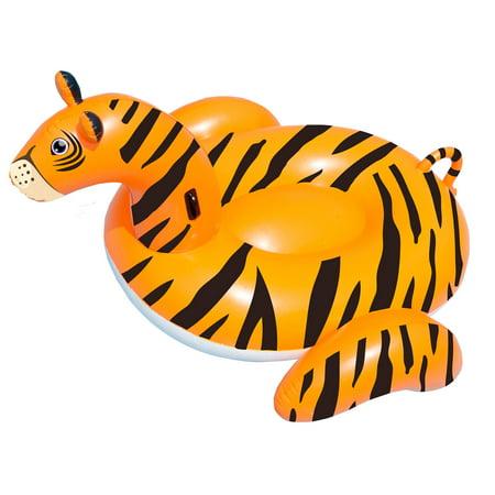 Swimline Safari Series Tiger Giant Inflatable Swimming Pool Float Lounger 90718