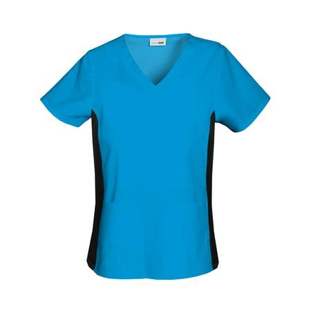 0904e8949f6 Scrubstar - Scrubstar Women's Premium Collection Flexible V-Neck Scrub Top  - Walmart.com