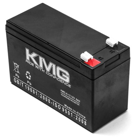 KMG 12V 8Ah Replacement Battery for T.H.e. Medical ULTRALIFT 3500XH - image 2 de 3