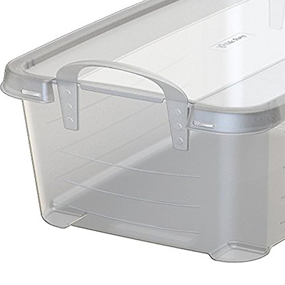 Life Story 14 Quart Clear Stackable Organization Storage Box Container (18 Pack)