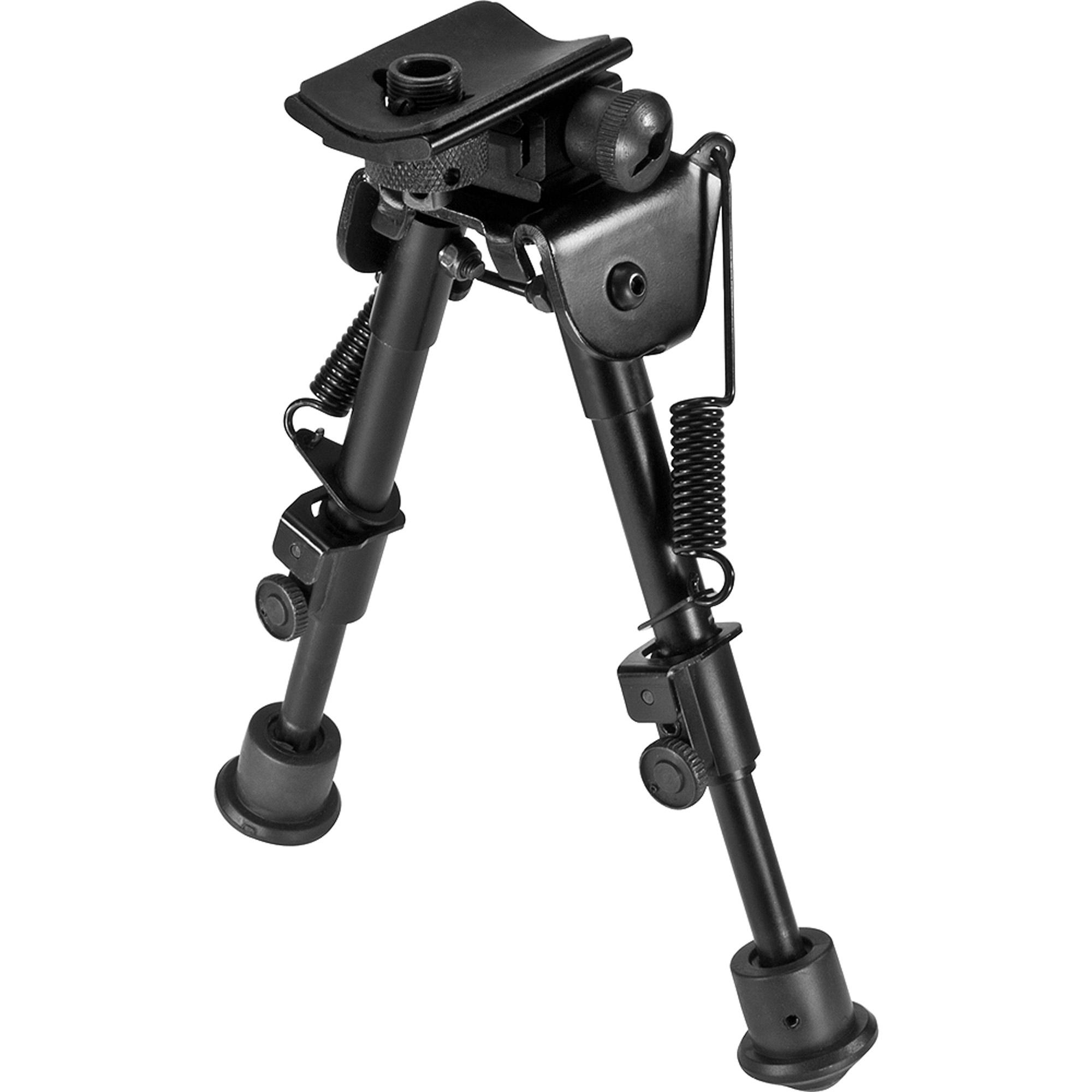 Barska Optics Spring-Loaded Adjustable Bipod, Low