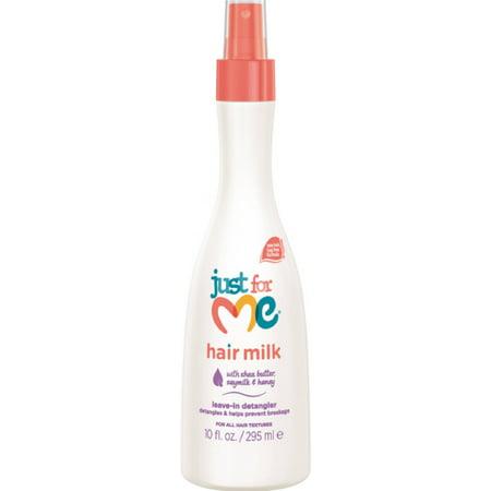 - Just For Me Hair Milk Leave-In Detangler 10 oz (Pack of 6)