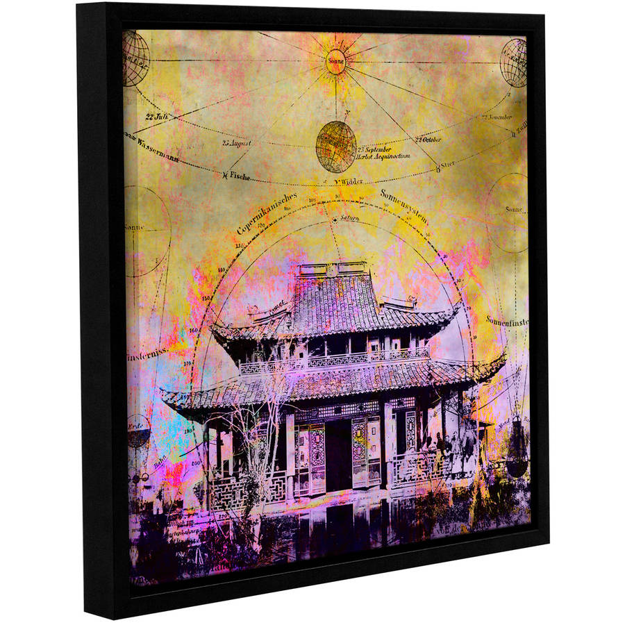 "ArtWall Elena Ray ""Celestial Temple"" Gallery-wrapped Floater-framed Canvas"