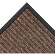 NOTRAX 117S0034BR Carpeted Entrance Mat, Brown, 3 x 4 ft.