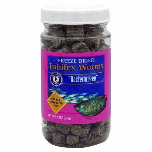 San Francisco Bay Brand - Freeze Dried Tubifex Worms - 1 oz. (28 g)