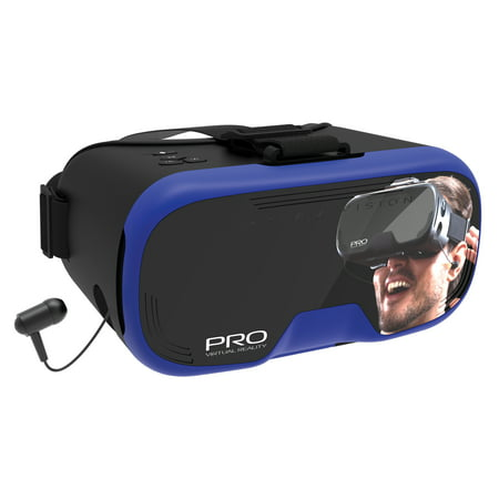 Tzumi Dream Vision Pro - Virtual Reality Smartphone Headset, Blue