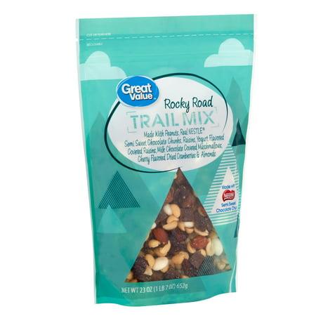 Great Value Rocky Road Trail Mix, 23 Oz. Happy Trails Trail Mix