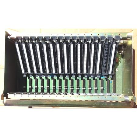 used A-B 1771-A4BBrevK01 120V AC 16 slotAC I/O OutputI/O (Sunglasses Used In Baby Driver)