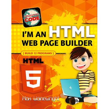 I'm an HTML Web Page Builder (Best Web Builder For Mac)