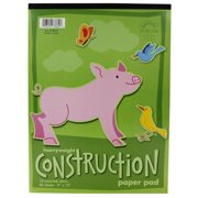 Norcom Inc 78862-9 9 in. X 12 in. Construction Paper Pad