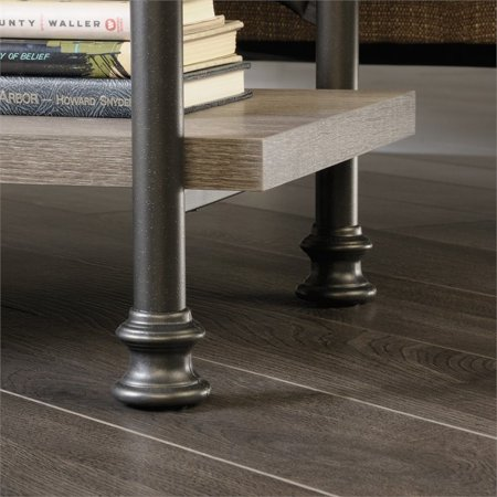 Sauder Canal Street Anywhere Console Table in Northern Oak - image 2 of 9