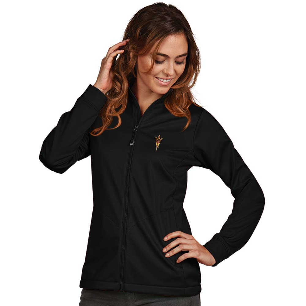 Arizona State Womens Golf Jacket (Color: Black)