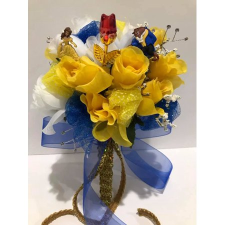 Belle Beauty and The Beast Wedding Bridal Flower Bouquet Gift Idea](Beauty And The Beast Bridal Shower)