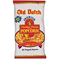 Old Dutch Air Popped Cheddar Cheese Popcorn Super Size, 13.5 Oz.