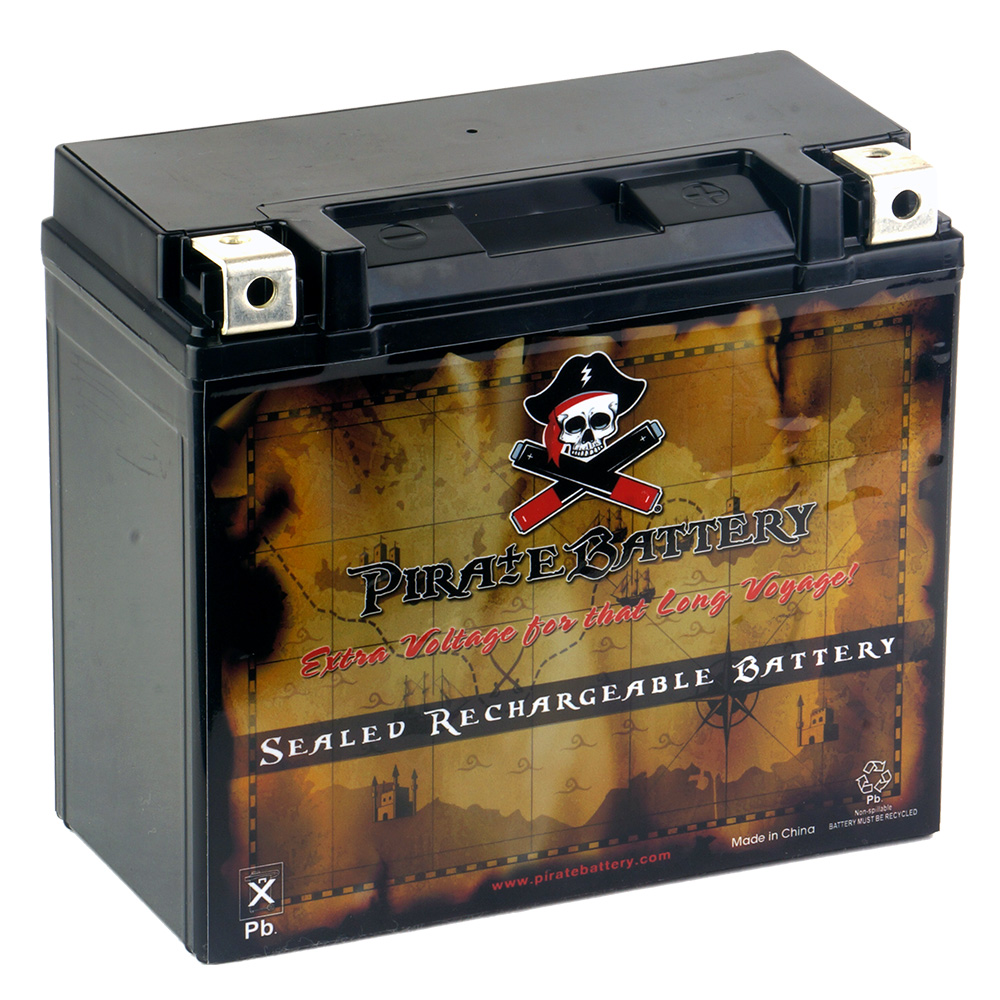 YTX20L-BS Motorcycle Battery for Yamaha 1600cc XV1600 Road Star 2003