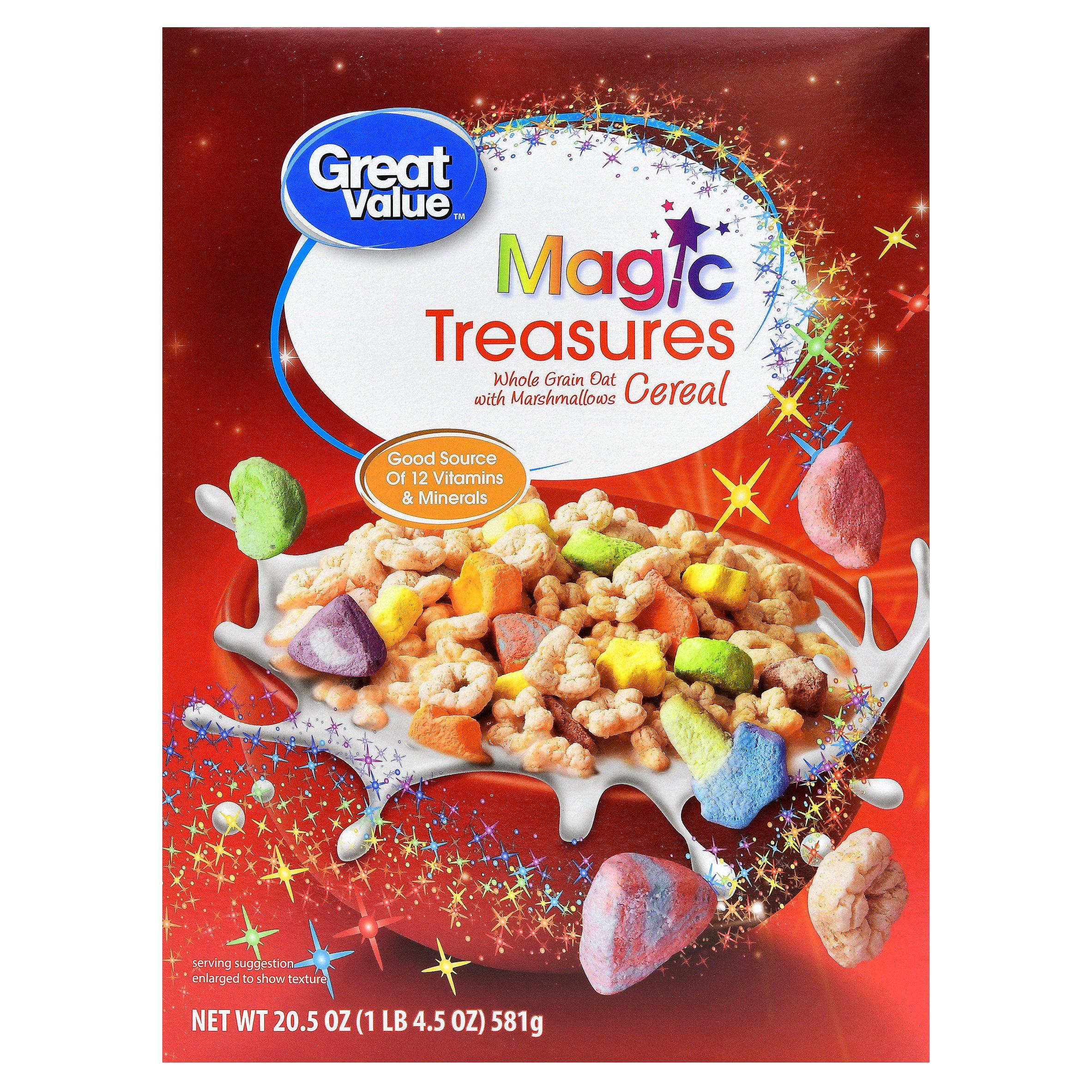 Great Value Breakfast Cereal, Magic Treasure, 20.5 Oz