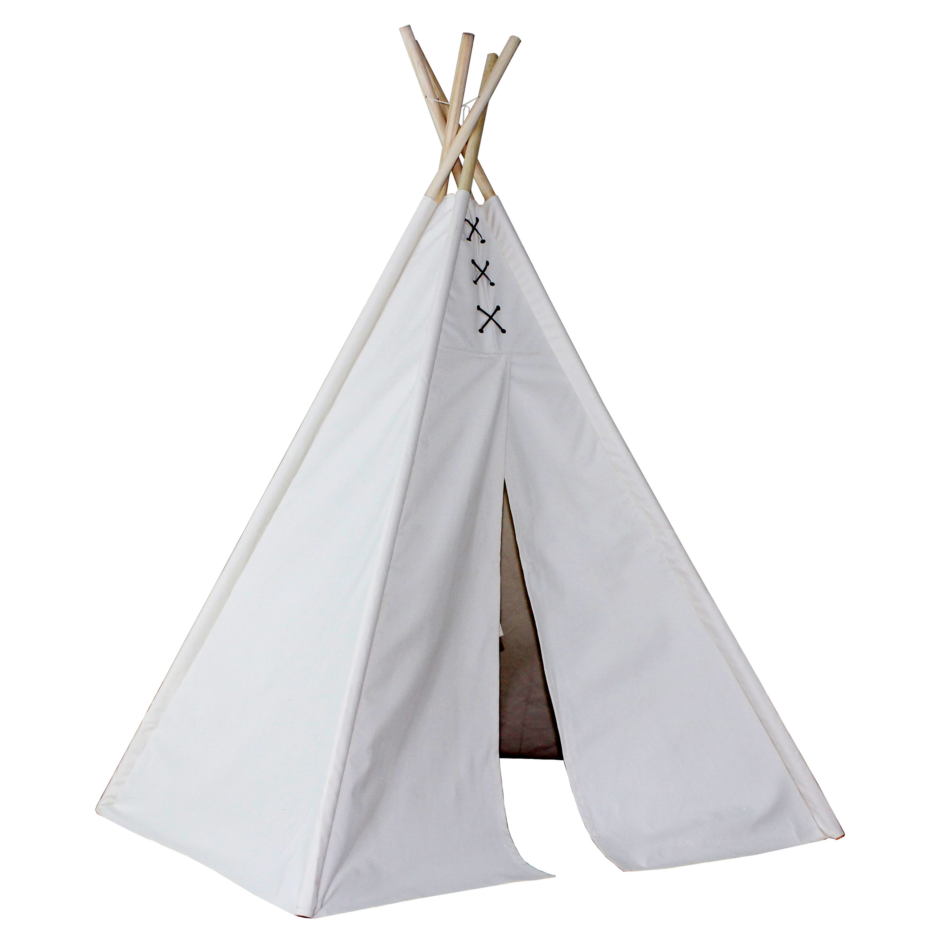 Dexton 6ft Hideaway Lace Tie Five Panel Teepee - Dx-3056