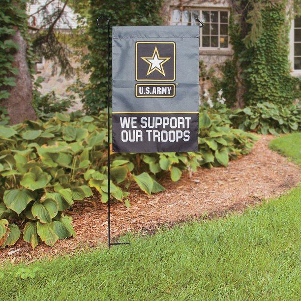 Us Army Garden Flag Home Decor 1 Piece Walmart Com Walmart Com