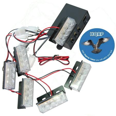 Amazing Hqrp Amber White 18 Led Emergency Vehicle Strobe Flash Lights For Wiring Digital Resources Llinedefiancerspsorg