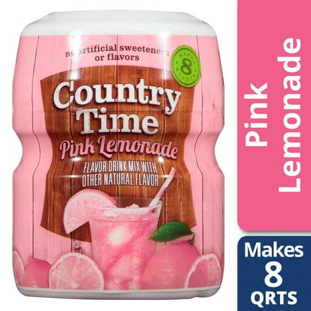 Country Time Pink Lemonade Drink Mix 19 oz (Tube Pink Lemonade)