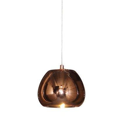 Solid Copper Designer Pendant - lightupmyhome Venus Mirrored Pendant Chandelier Polished Copper
