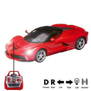 RC Car 1:16 Scale Remote Control High Speed Racing Car Toy Model Vehicle for Boys Girls Kids, Auto Open and Close Doors