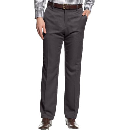 Kenneth Cole Reaction Mens Urban Heather Woven Slim Fit Dress Pants