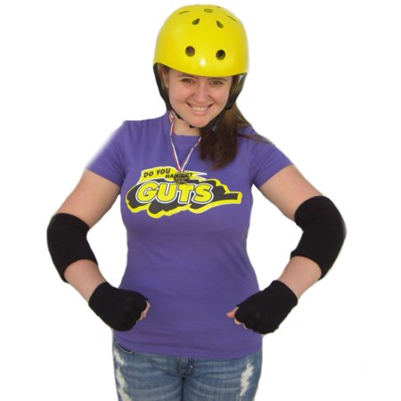 Guts Purple Team T-Shirt Global Costume Do You Have It 90's Nickelodeon (90's Costumes For Men)