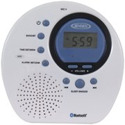 Best FM Showers - JENSEN JWM-160 Water-Resistant Digital AM/FM Bluetooth Shower Clock Review
