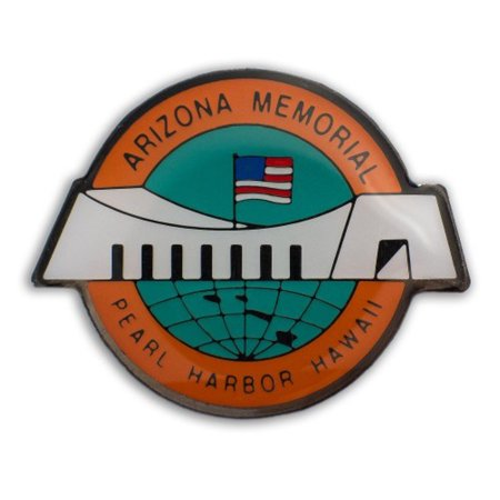 Hawaii Lapel or Hat Pin Pearl Harbor