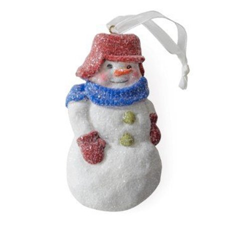 Hallmark Direct Imports 1DIR4468 Snowman with Wool Hat Ornament - Import Direct