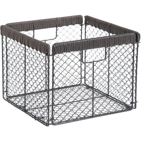 Better Homes And Gardens Chicken Wire Collapsible Bin