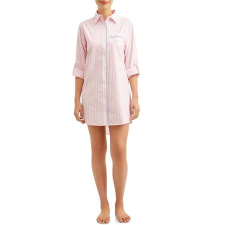JV Apparel Women's and Women's Plus Classic Sleep Shirt
